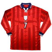 Load image into Gallery viewer, 1998 World Cup England away shirt - long sleeve