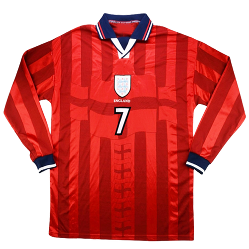 1998 World Cup England away shirt - long sleeve