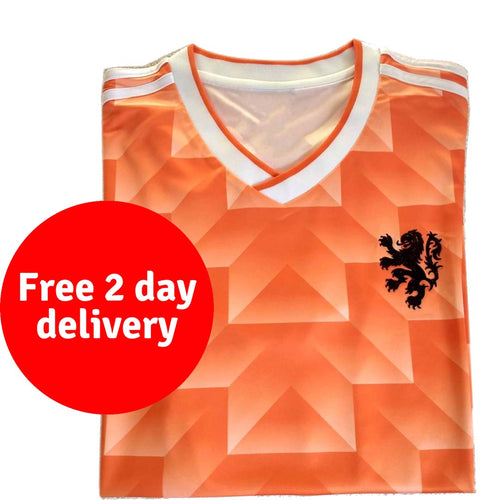 1988 Netherlands replica football shirt