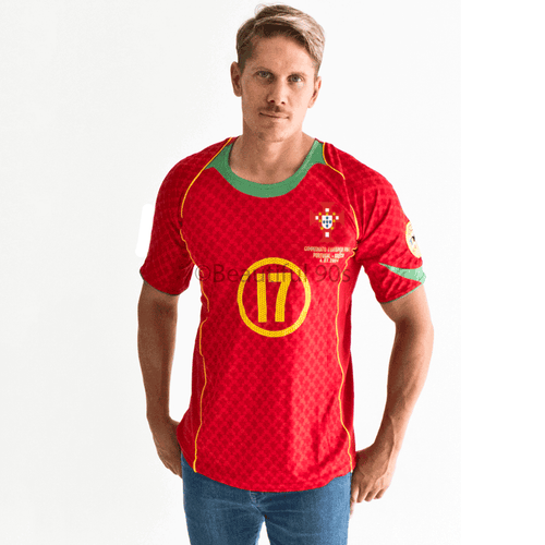 2004-2006 Portugal Euros replica retro football shirt