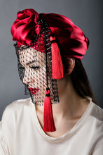 """Indiscretion"" Silk Turban"