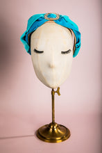 """Baby Blues"" Velvet Headband"