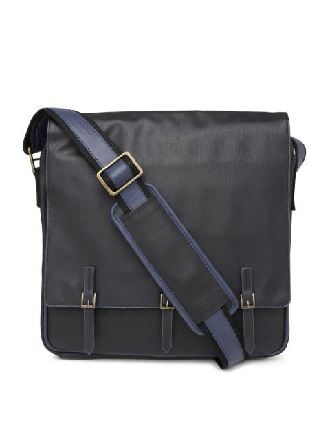 Hiveaxon Black Messenger Bag