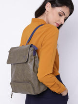 Hiveaxon Olive Brown Backpack