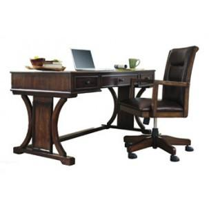 Devark Brown Home Office Set