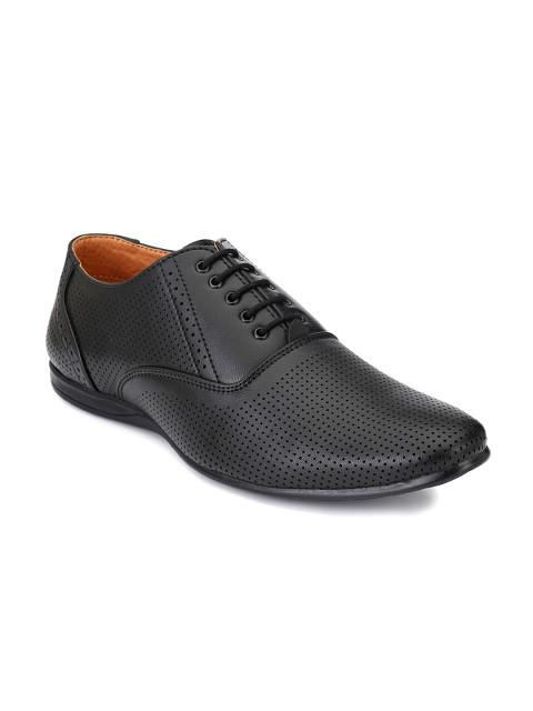 Fastalas Black Formal Shoes