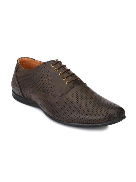 Fastalas Brown Formal Shoes
