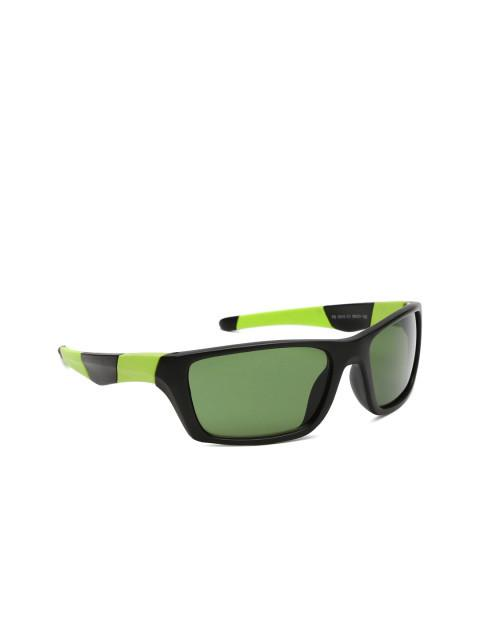 Kingawns Green Rectangle Sunglasses