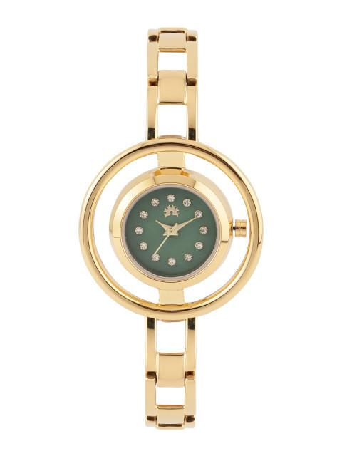 Arumkick Green Dial Watch