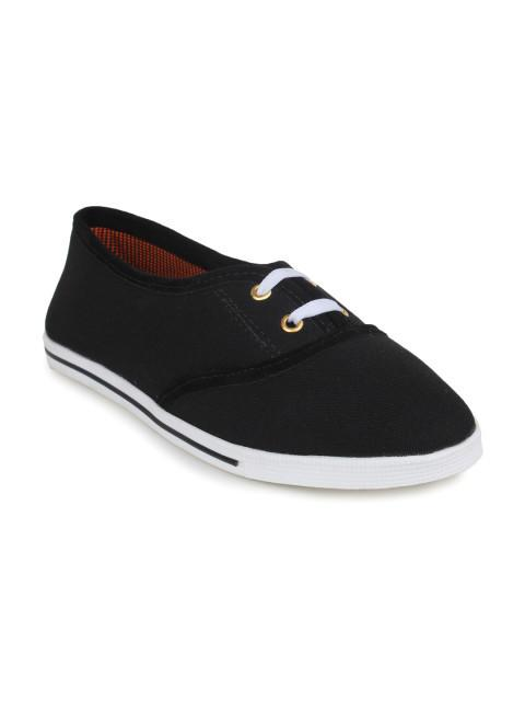 Scamanus Black Casual Shoes