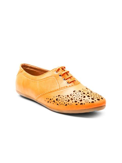 Scamanus Orange Casual Shoes