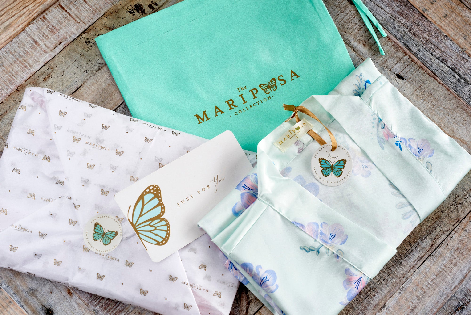 Flirty Freesias (Short) - The Mariposa Collection