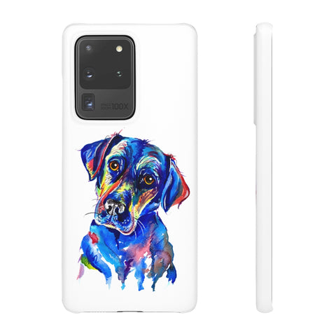 Labrador Phone Cases - 'Look into my eyes!'