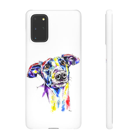 Greyhound Snap Phone Case - 'Rhea'