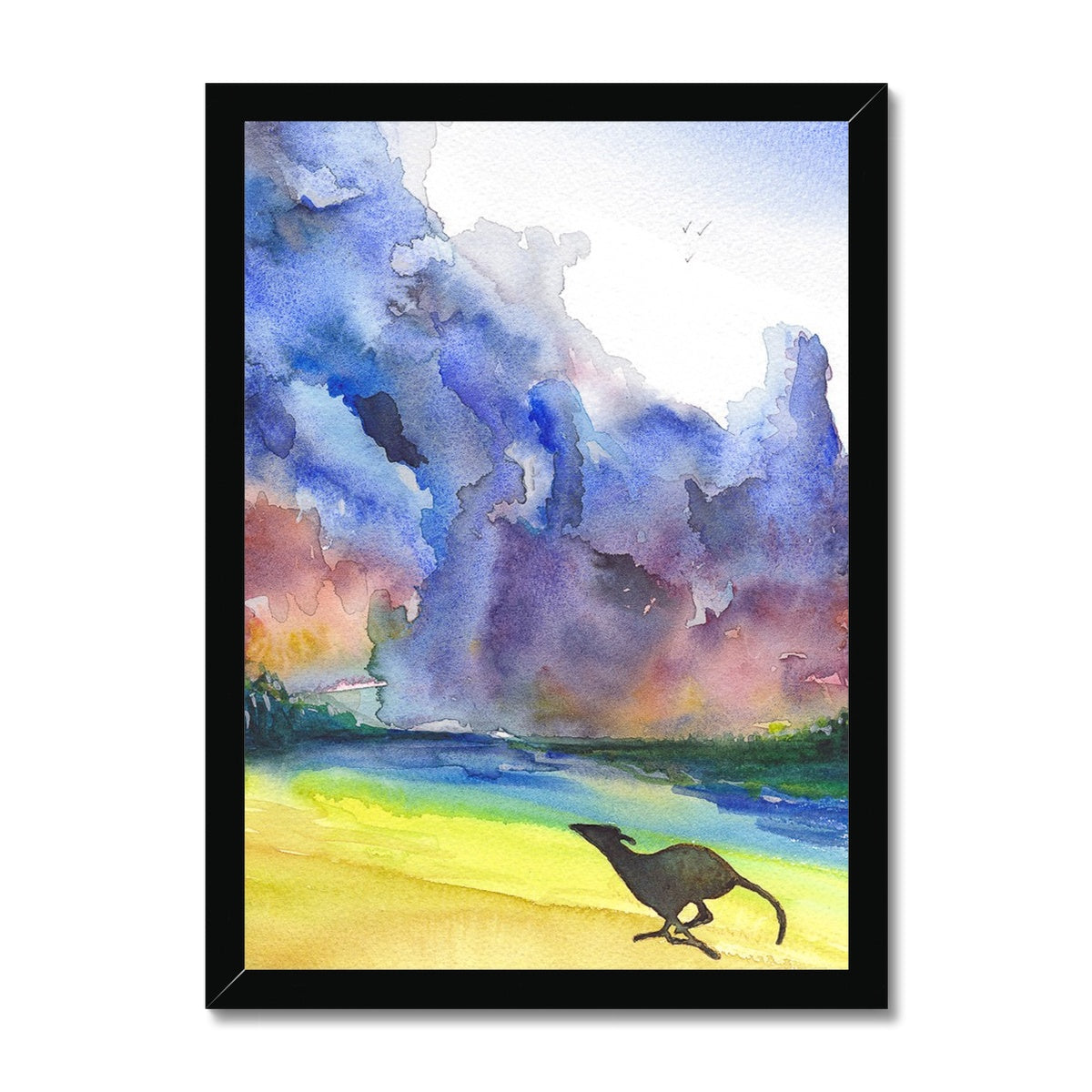 Greyhound Framed Prints