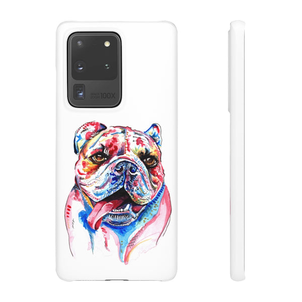 British Bulldog Phone Cases - 'Cheeky Boy'
