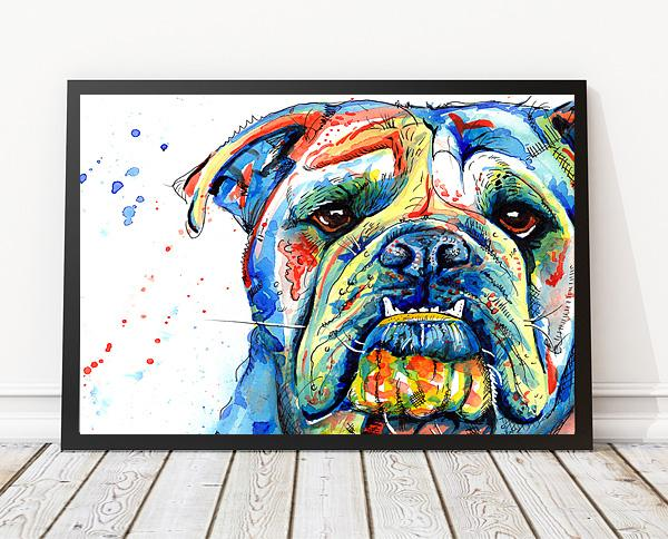 British Bulldog Art