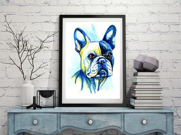 French Bulldog Pictures Paintings