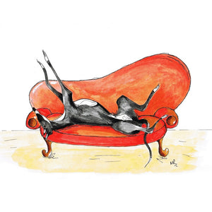 Whippet Art Prints