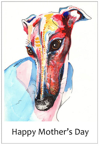 Whippet Mothers Day Cards
