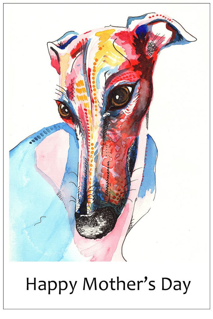 Greyhound Mother's Day Cards