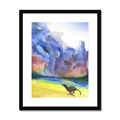 Greyhound Framed & Mounted Print