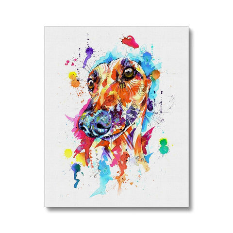 Greyhound Canvas Print Wall Art