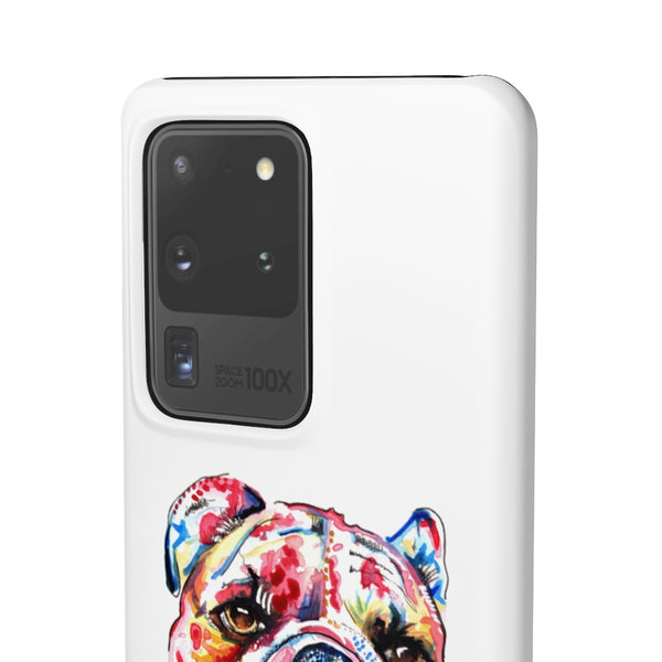 British Bulldog Phone Cases