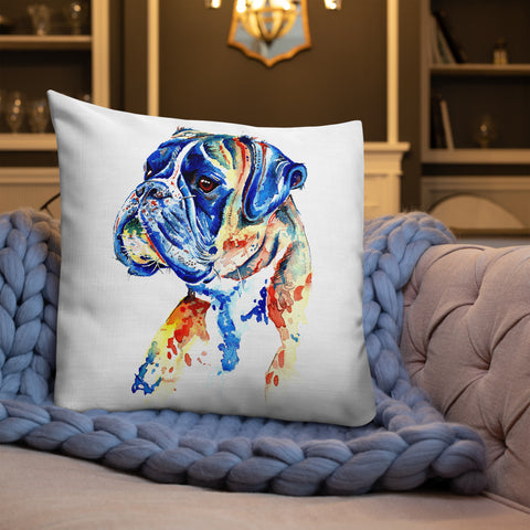 Boxer Dog Cushions & Pillow - 'Handsome Boy'