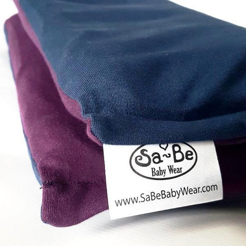 Wrap Baby Carrier Aubergine / Dark Blue