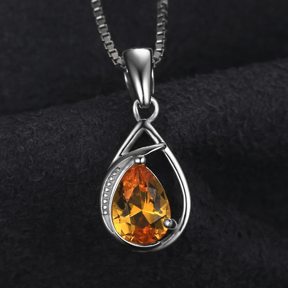 1ct orange sapphire necklace harmonia jewelry 1ct orange sapphire necklace harmonia jewelry aloadofball Gallery