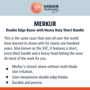 Merkur 34C Short Handle