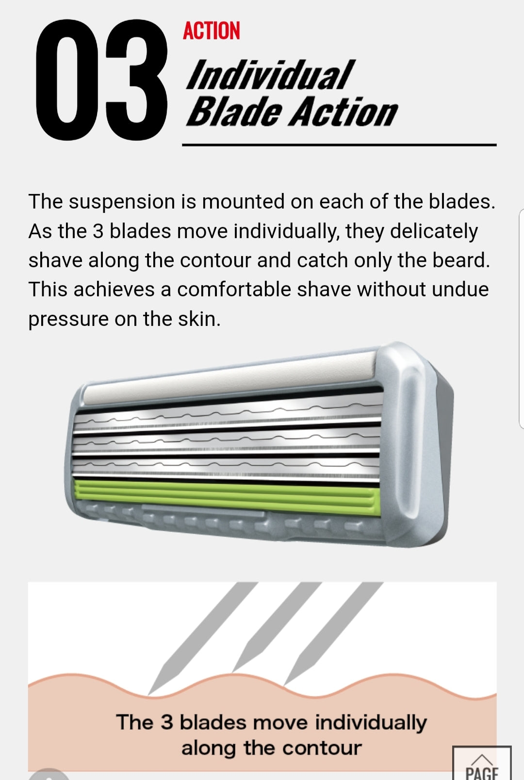 Feather F3 Innovative Comfortable Razor