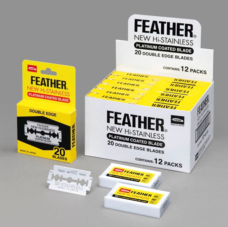 Feather Hi Stainless Blades 240 pcs