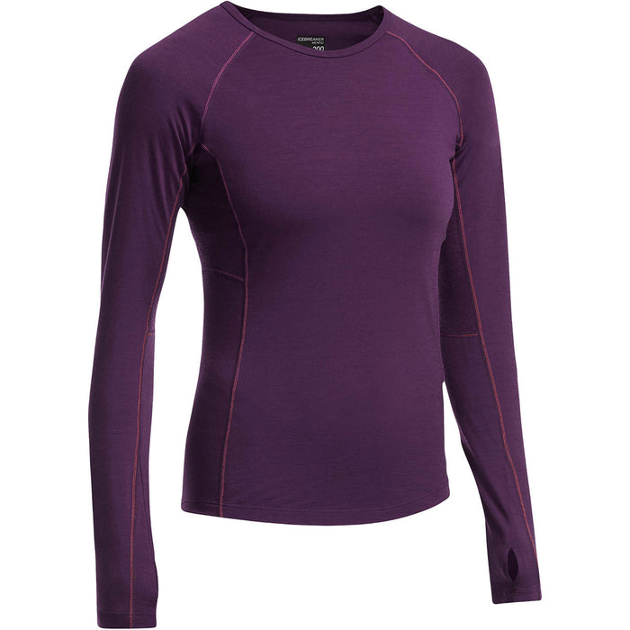 Icebreaker Womens Zone Long Sleeve Crewe
