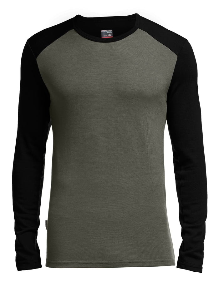 Icebreaker Men's Tech Top Long Sleeve Crewe