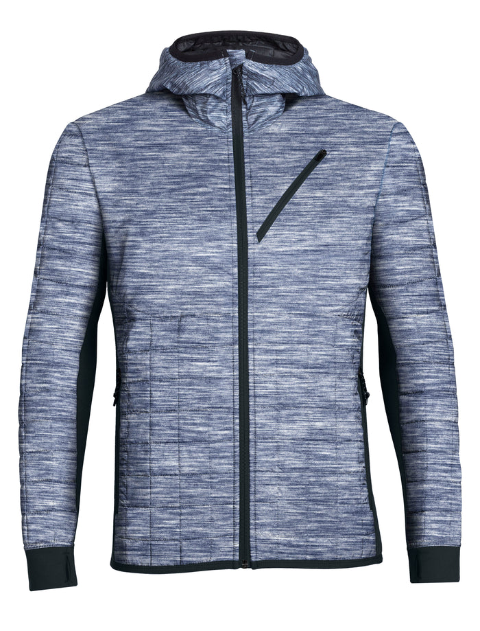 Icebreaker Men's Helix Long Sleeve Zip Hood