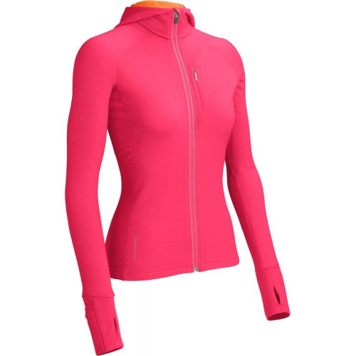 Icebreaker Womens Quantum Long Sleeve Hood