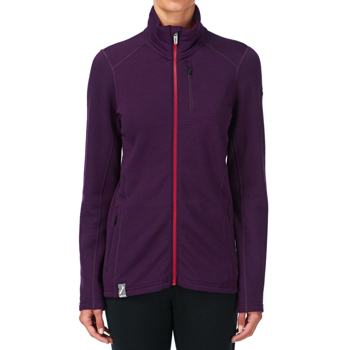 Icebreaker Womens Cascade Long Sleeve Zip