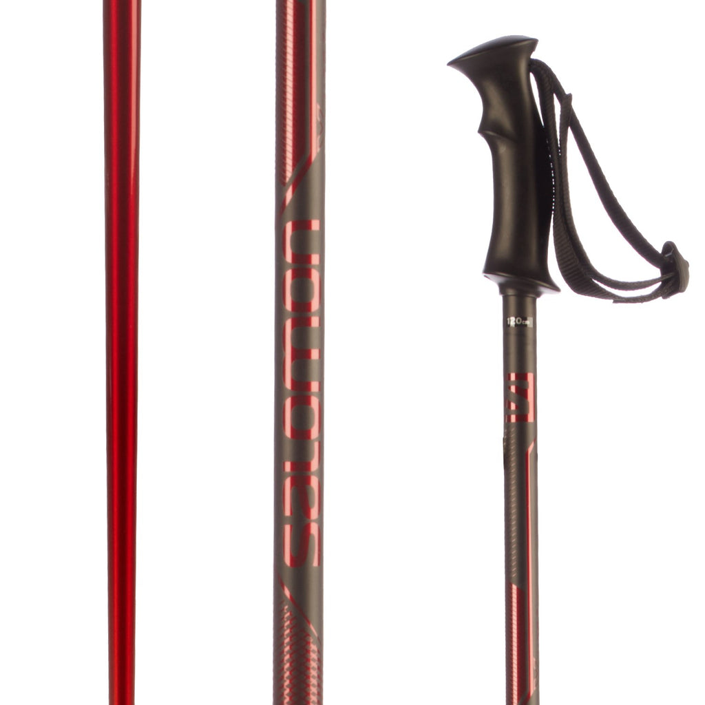 Salomon X North Red/Black Ski Poles