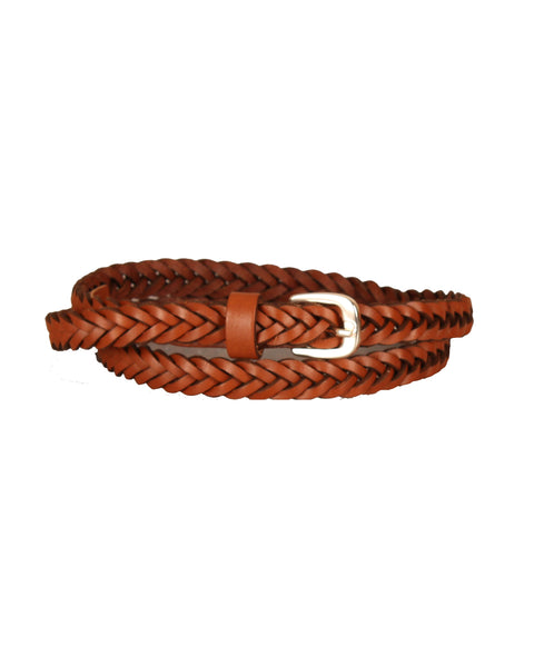 New Skinny Braided Belt