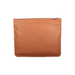 Oversize Leather Clutch
