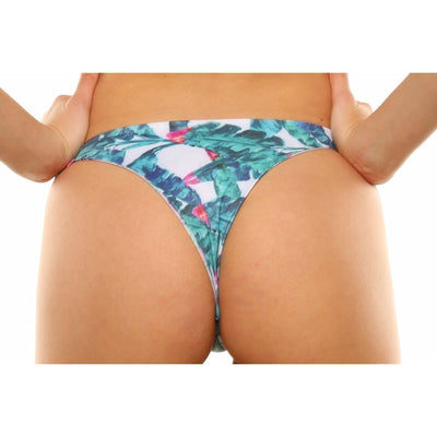 Elysian Swim Bottoms Balmy Bottoms - Palm Bloom/Pineapple