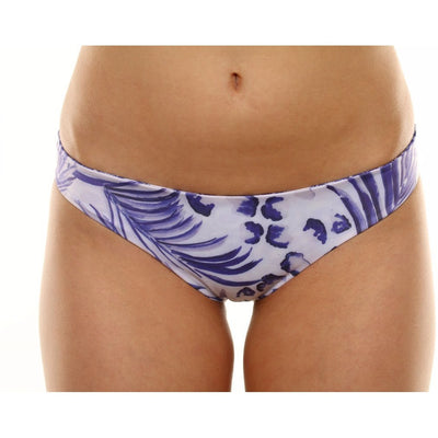 Elysian Swim Bottoms Paradise Bottoms - Blue Palm/Seashell