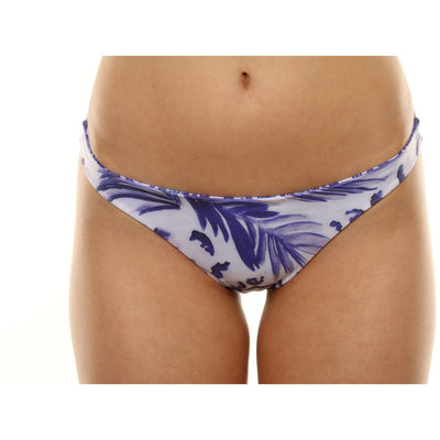 Elysian Swim Bottoms Tropico Bottoms - Blue Palm/Seashell