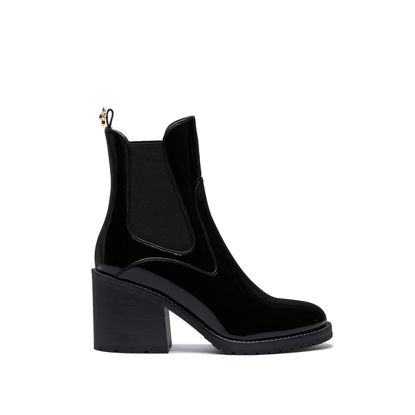 Madison Boot - Black Patent
