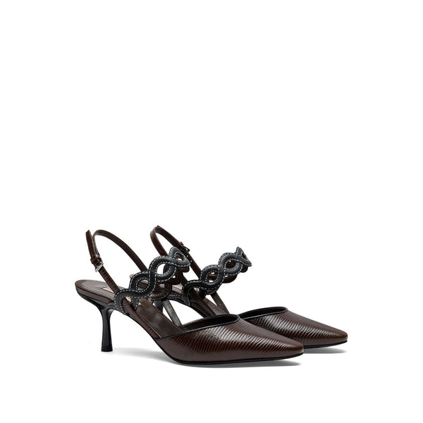 Forever Slingback - Dark Brown