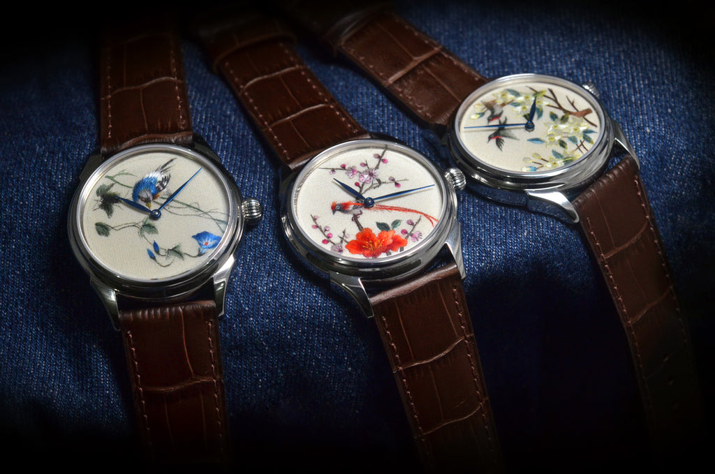 The Celestial Silk Trinity - 3 Watches (Pre-order. Full price USD$4788)