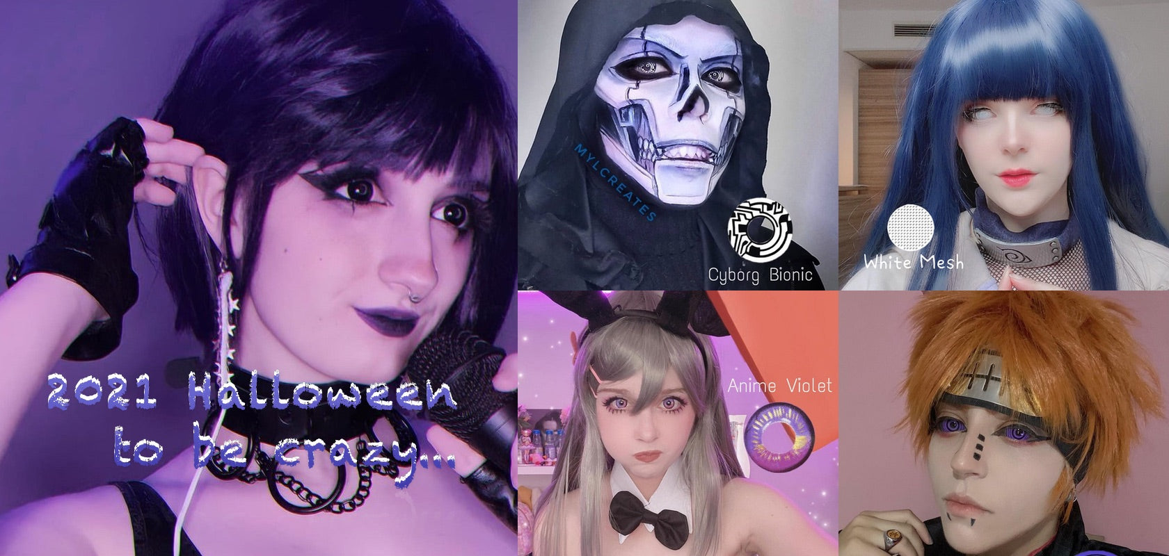 Anime Costume Contacts