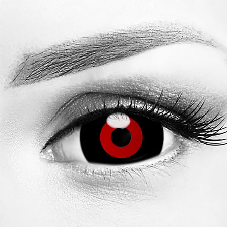 Tokyo Ghoul Red & Black Mini Sclera 17mm Contacts